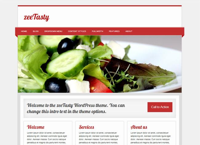 zee Tasty WordPress Theme