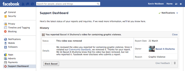 The Video Has Now Been Removed by Facebook