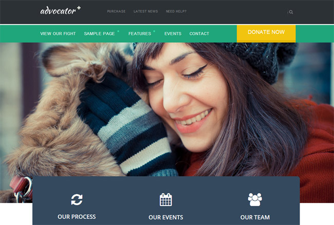 Advocator WordPress Theme