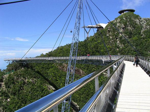Bridge at summit, Langkawi, Malaysia