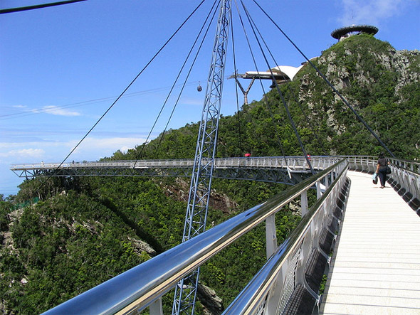 Bridge at summit, Langkawi, Malaysia