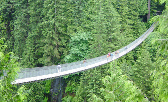Capilano Suspension Bridge, Vancouver, British Columbia