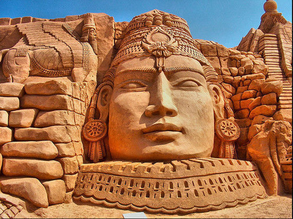 Sand Sculpture Festival in Algarve
