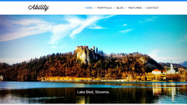 Ability WordPress Theme