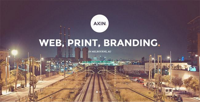 Akin WordPress Theme