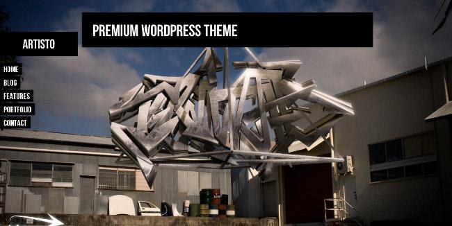 Artisto WordPress Theme