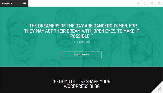 Behemoth WordPress Theme