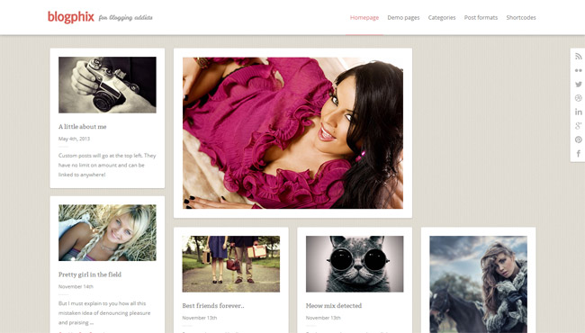 Blogphix WordPress Theme