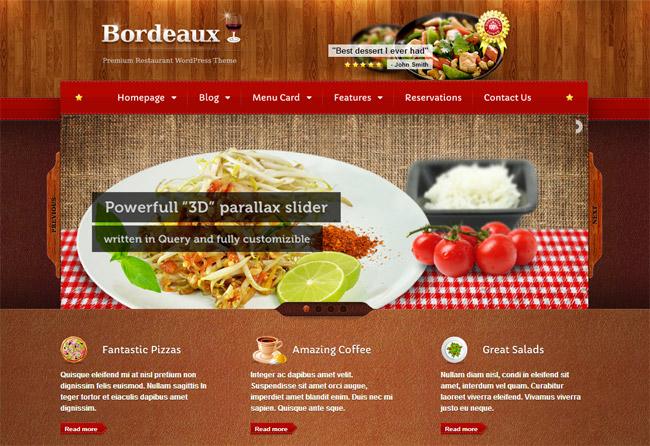Bordeaux WordPress Theme