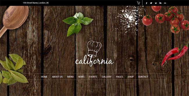 California WordPress Theme