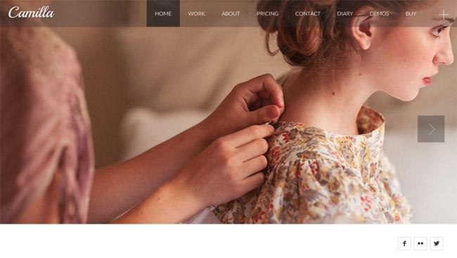 Camilla WordPress Theme