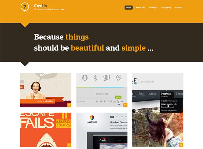 Creolio WP WordPress Theme