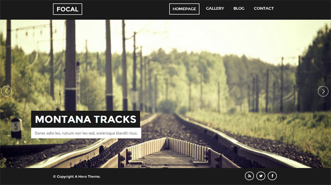 Focal WordPress Theme