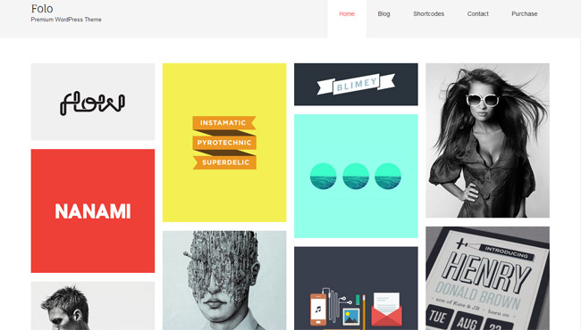 Folo WordPress Theme