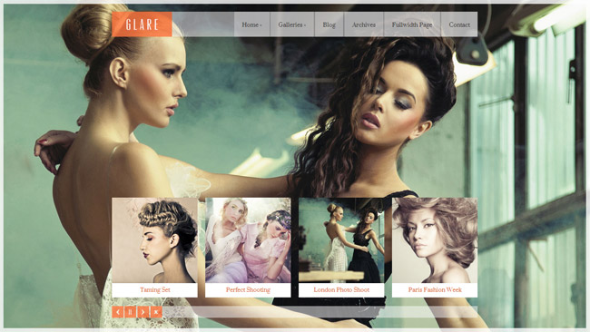Glare WordPress Theme