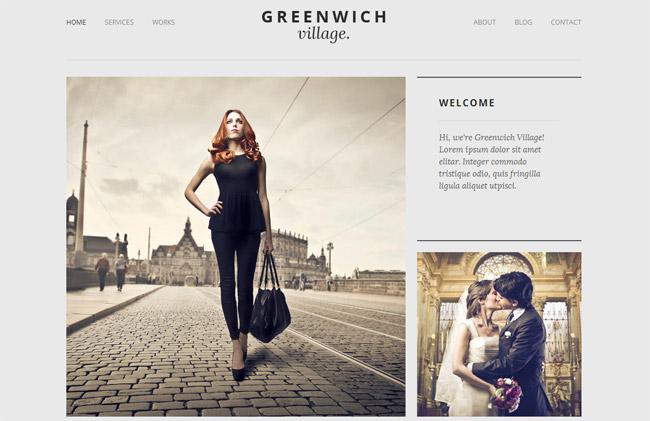 Greenwich Village WordPress Theme