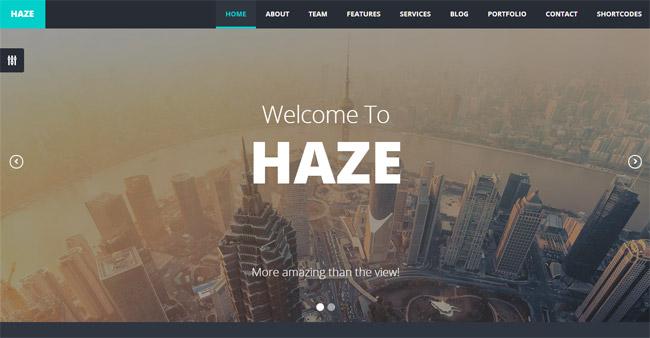 Haze WordPress Theme