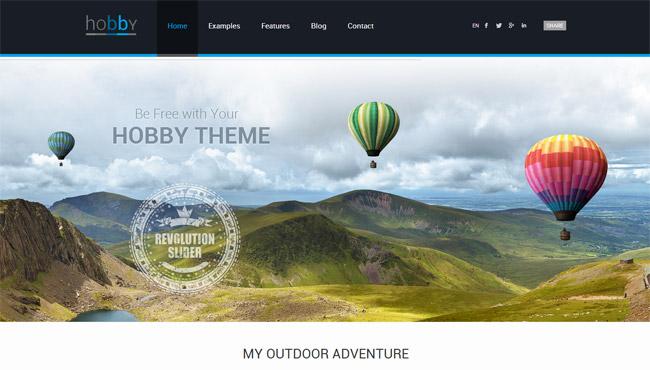 Hobby WordPress Theme