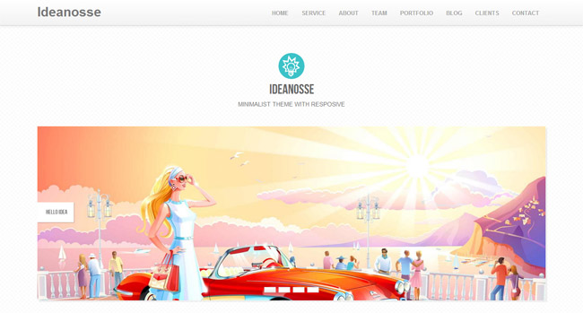 Ideanosse WordPress Theme