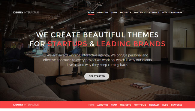 Identiq WordPress Theme