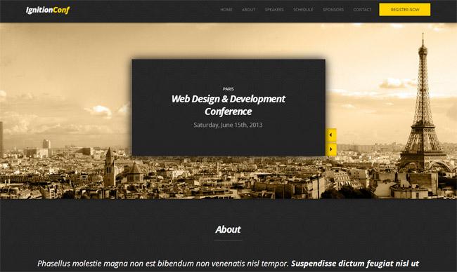 IgnitionConf WordPress Theme