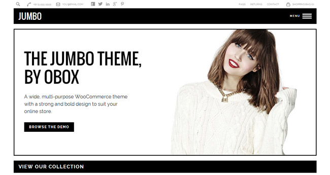 Jumbo WordPress Theme
