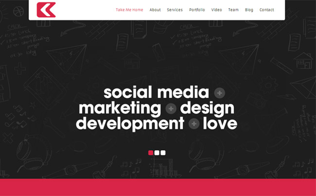 Kronos WordPress Theme