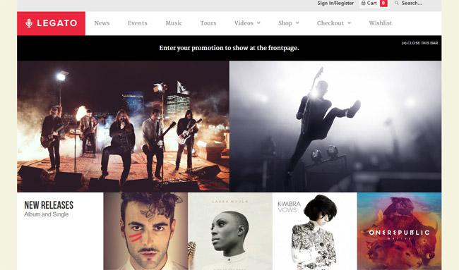 Legato WordPress Theme