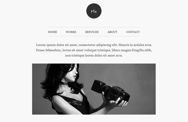Me WordPress Theme