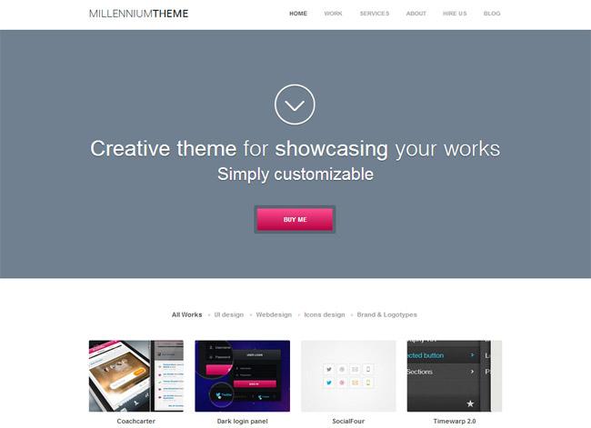 Millennium WordPress Theme