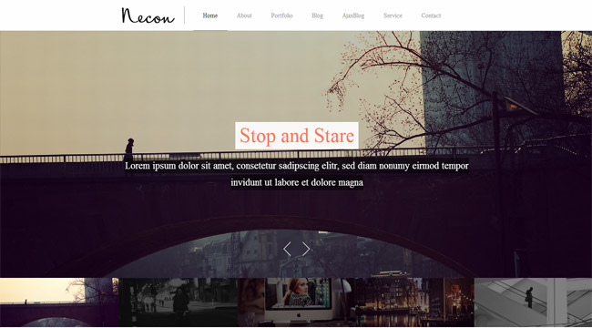 Necon WP WordPress Theme