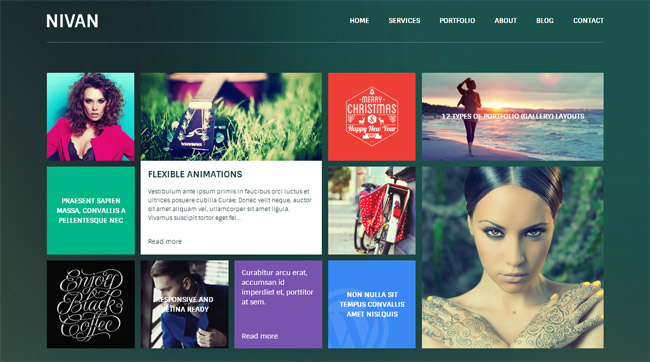 Nivan WordPress Theme