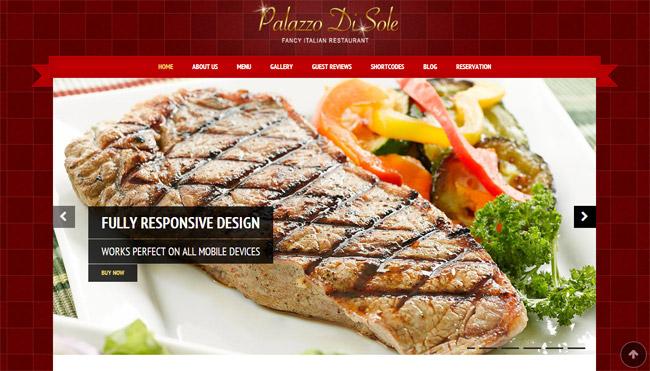 Palazzo Di Sole WordPress Theme