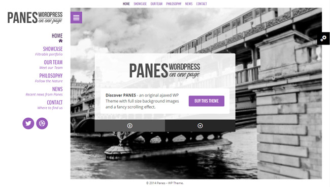 Panes WordPress Theme