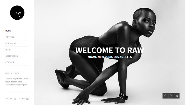 Raw WordPress Theme