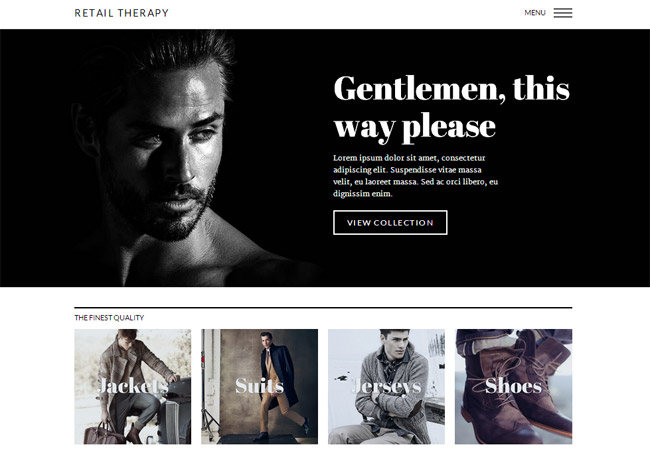 Retail Therapy WordPress Theme