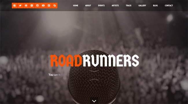 RoadRunners WordPress Theme