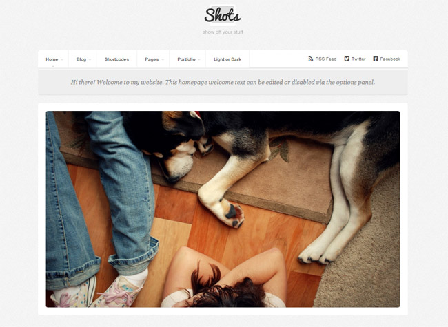 Shots WordPress Theme