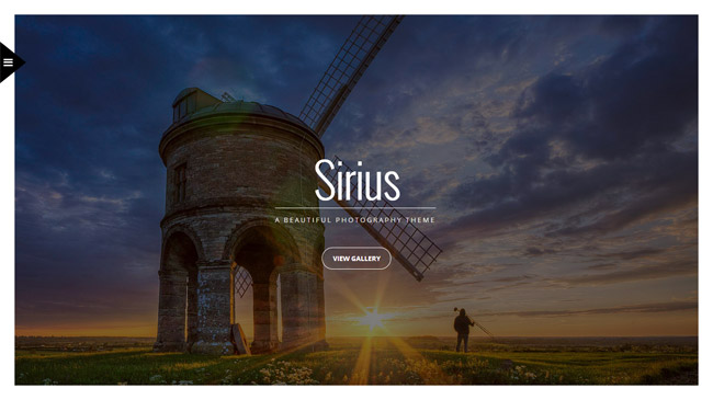 Sirius WordPress Theme