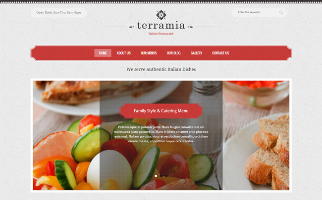 Terramia WordPress Theme