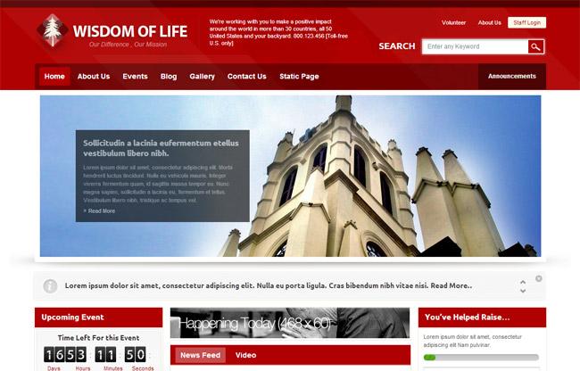 Wisdom Of Life WordPress Theme