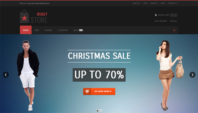WokeyStore WordPress Theme