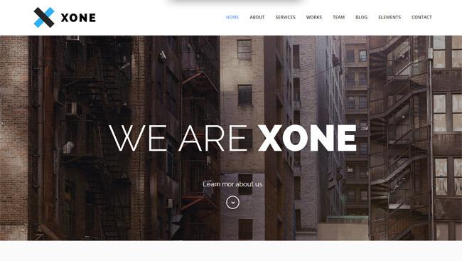 Xone WordPress Theme