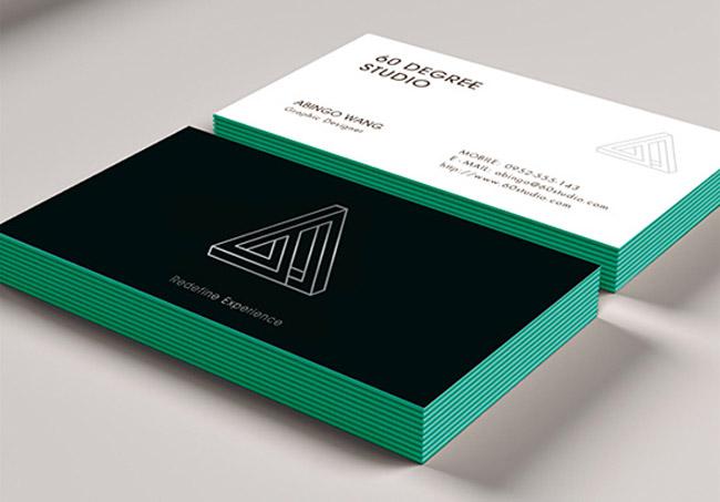 60 DEGREE STUDIO Business Card