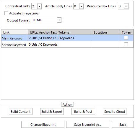Link Options