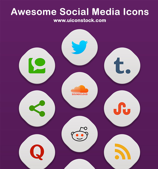 Awesome Social Media icons