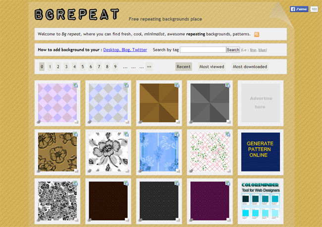 Bgrepeat Background Patterns