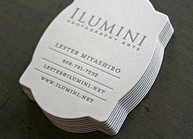 Black & White Letterpress
