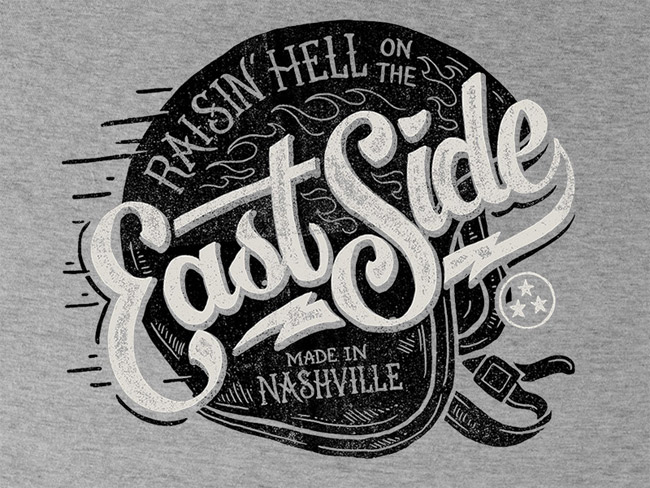 East Side - Tee Design Logo