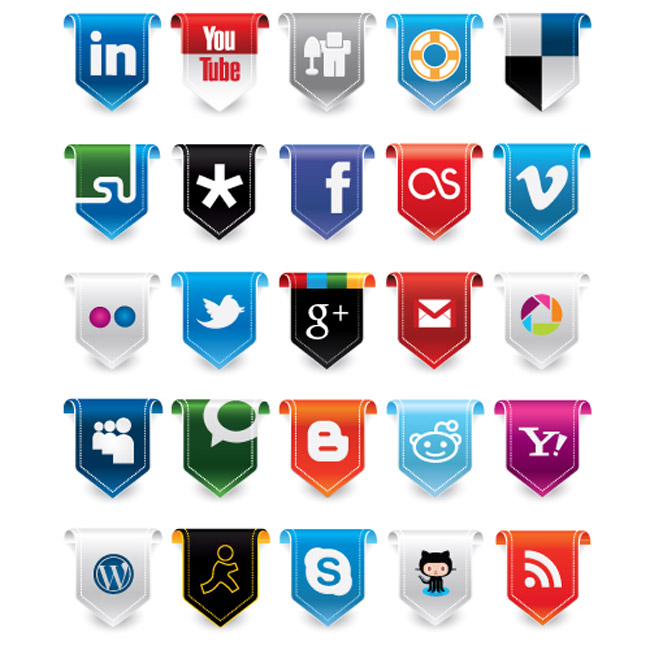 Exclusive Vector Freebie: New Social Media Icon Set